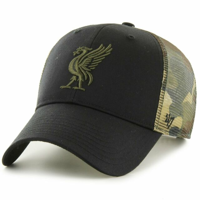 47 Liverpool Fc Camo Branson Cap Vintage Red For Sale Ebay
