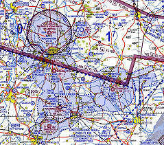 Southern England and Wales 1:500,000 VFR Chart *LATEST EDITION 45*
