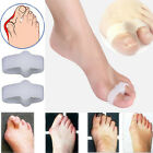 2pcs Gel Toe Separators Stretchers Straighteners Alignment Bunion Pain Relief