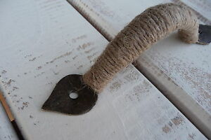 Nautical-Rope-Jute-Metal-HANDLE-Drawer-Pull-Shabby-Chic-Beach-Decor-Knob