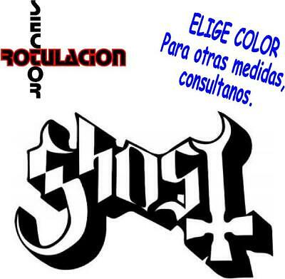 ref1486 Ghost Music Heavy Metal ROCK BAND PEGATINA VINILO STICKER ADHESIVO