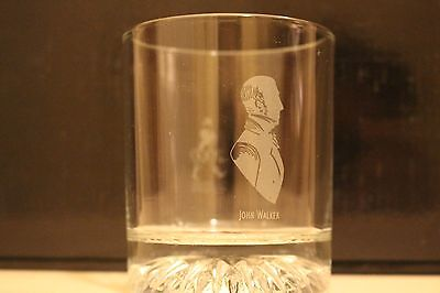 Vintage Johnnie Walker Whisky Millennium Rock Tumbler Glass
