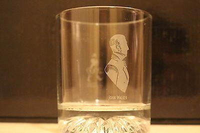 Vintage Johnnie Walker Whisky Millennium Rock Tumbler Glass
