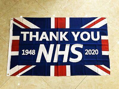2020 Thank You NHS Pride UK Flag Banner Gift Doctor Nurse 5ft*3ft