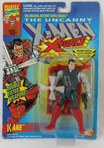 1993-The-Uncanny-X-Men-X-Force-Kane-Action-Figure-Toybiz-Marvel-Comics-New-Moc