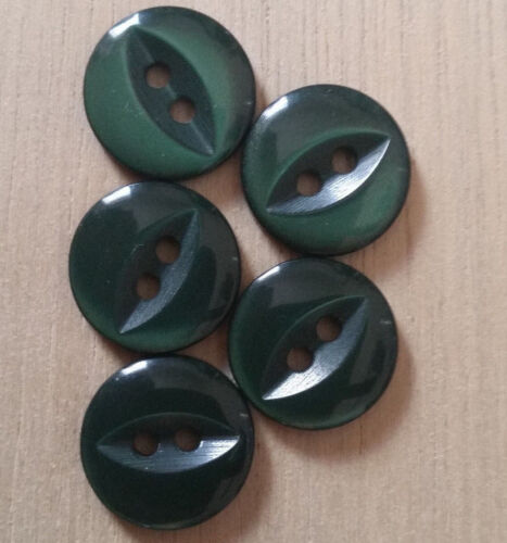 Fish eye baby buttons in sizes 11.5mm-16mm assorted colour free same day postage