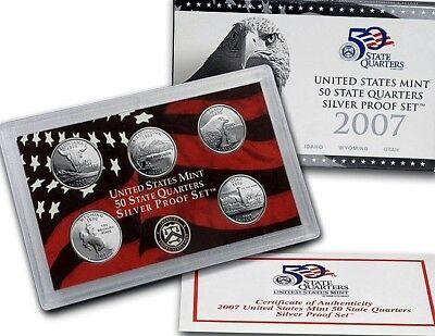 Silver and Clad 1999 S Half Proof Set NO Quarters Box or COA Deep Cameo
