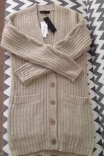 Banana Republic Cable Sleeve Long Cardigan Sweater Jacket XS New $128