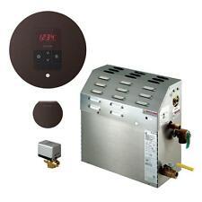 Mr Steam 7.5kW Steam Generator with iTempo AutoFlush Round in Oil Rubbed Bronze