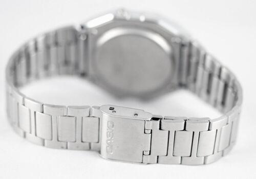 CASIO RETRO DIGITAL Uhr A 158WA 1 Edelstahl Digital Herren Damen Uhr Neu