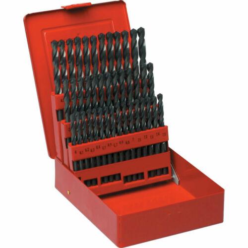 Sherwood Bohrersets HSS Spiralbohrersatz 6-10 mm Bohrlänge Standard inkl M...