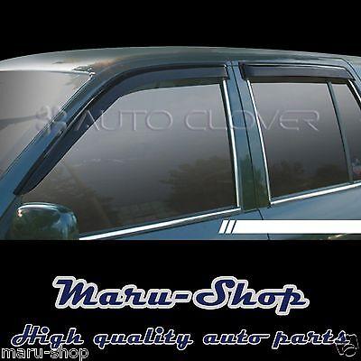Smoke Door Window Vent Visor Deflector for 95~02 Kia Sportage