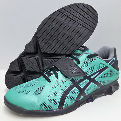 Asics Lift Master Lite Weight Training Lifting Womens Shoes Teal/Black/Silver | eBay