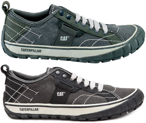 CAT CATERPILLAR Neder Canvas Sneakers Casual Trainers shoes Mens All Size New
