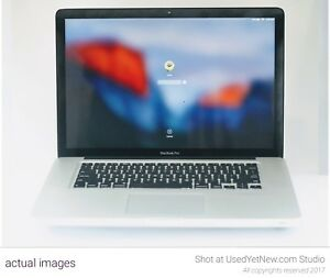 Macbook Pro i7 -16 GB RAM- 512 GB SSD with One Year Seller Warranty (Refurbished