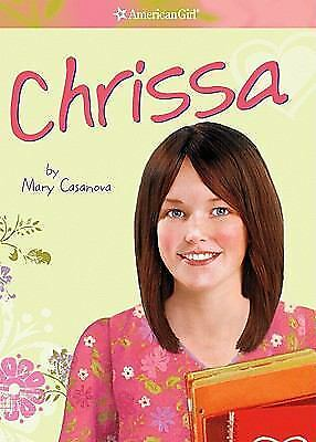 Book AMERICAN GIRL Girl of the Year 2009 Meet Chrissa RETIRED Soft Cover RARE