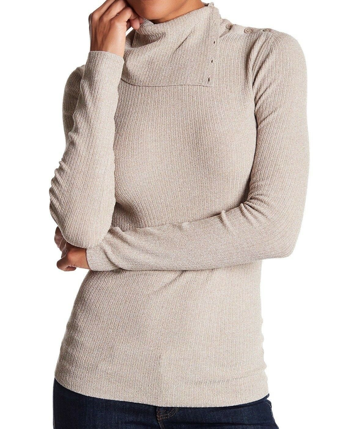 NWT   295 Theory Leendelly B Volt Asymmetrical Sweater [SZ Large]