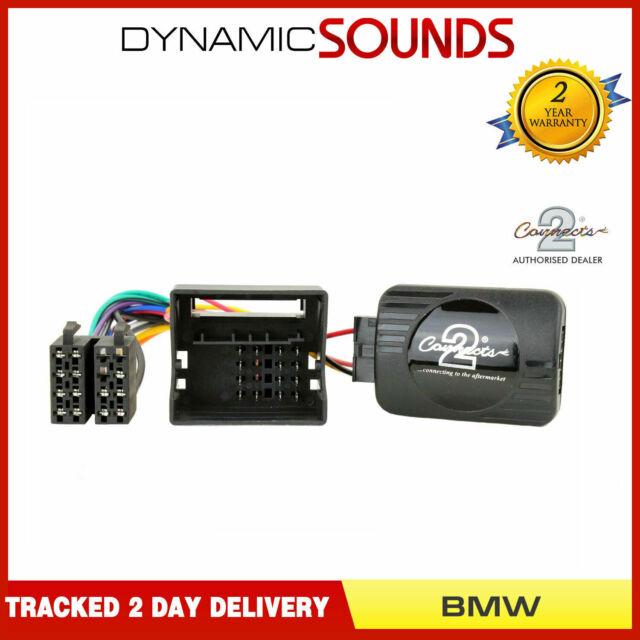 CTSBM 004 Stereo Alpine Control Volante Tallo Adaptador Para BMW Mini, E46, E39