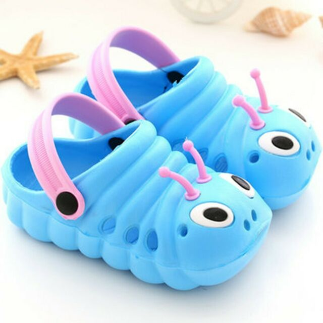 Toddler Kids Girls Boy Sandal Caterpillar Slippers Flip Shoes Summer Water Beach