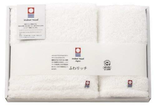 Japanese Imabari Bath & Face Towel set set set Cotton 100% Weiß Made in JAPAN e6e20d