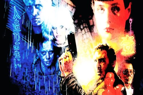 FANTASTIC BLADE RUNNER SCI-FI CANVAS #8 QUALITY ARTWORK PICTURE A1 A3 FREE P/&P