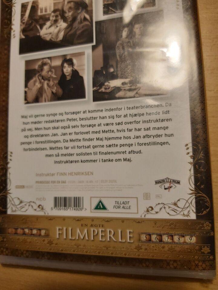 Prinsesse for en dag, DVD, komedie