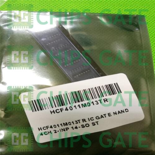 9PCS HCF4011M013TR IC GATE NAND 4CH 2-INP 14-SO ST