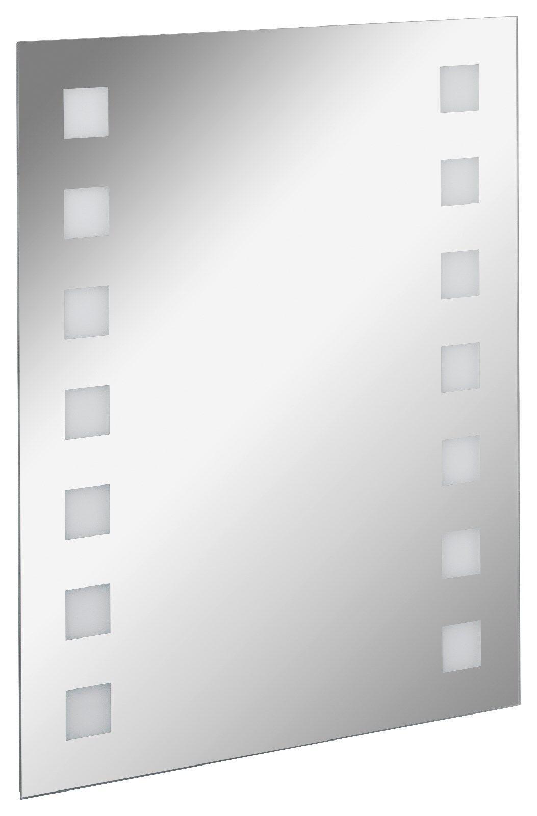 Fackelmann LED Spiegel Badspiegel Wandspiegel beleuchtet Breite 60 60 60 cm Höhe 75 cm 1f432f