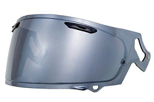 Yamashiro Motocicleta Extra Espejo Escudo Arai Vas-V Mv Humo Plata RX-7X con   T