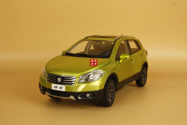 1 18 SUZUKI S-CROSS SUV Couleur  Verte Diecast Model  meilleure offre