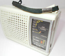 Vintage transistor radio old portable retro Sanyo Model RP-1270