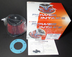 "Genuine APEXi Power Air Filter Intake Universal Kit Cone Pod 160mm 65mm 2.6"" JDM"