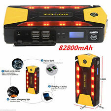 82800mAh Portable Car Jump Starter Pack Booster Charger Battery 12V