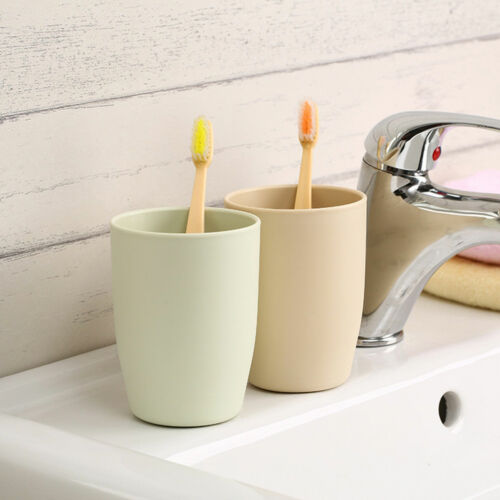 A-Level Bathroom Circular Cups Toothbrush Holder Rinsing Cup Wash Tooth MugBSCA