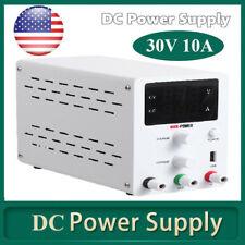 30v Adjustable Dc Power Supply Precision Variable Dual Digital Lab Test Us