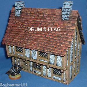 CONFLIX-EM6801-MERCHANT-039-S-HOUSE-28mm-Fantasy-Medieval-Wargames-Scenery