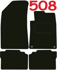 Peugeot 508 DELUXE QUALITY Tailored mats 2010 2011 2012 2013 2014 2015 2016 2017