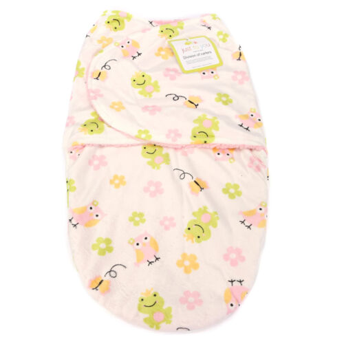 NewBorn Swaddle Swaddling Baby Girl Boy Snuggle Wrap Blanket Bedding Soft Feel