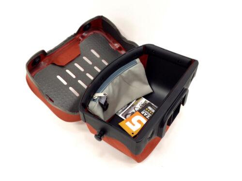 Ortlieb Ultimate 6 S Plus Waterproof Bicycle Handlebar Bag Red//Orange