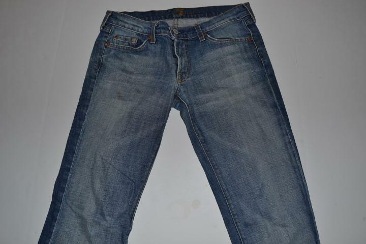 7 FOR ALL MANKIND LIGHT blueE DENIM JEANS PANTS WOMENS SIZE 29