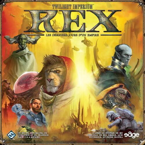 Jeu de société Rex - Les derniers jours d'un empire - Twilight Imperium - Neuf