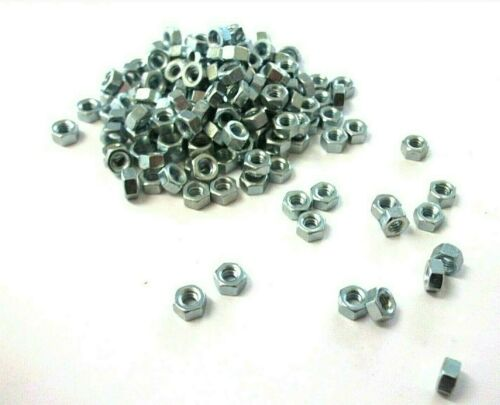Steel Hex Pack of 60 *Top Quality! BA Hexagon full nuts Full nuts 6BA