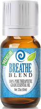 "Breathe Blend Essential Oil 10ml - 100% Therapeutic Grade Oil  ""FREE SHIPPING"""