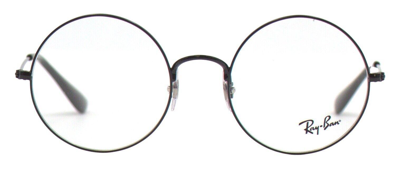 Ray-Ban Damen Herren Brillenfassung RX6392 2509 50mm schwarz rund BO211 B