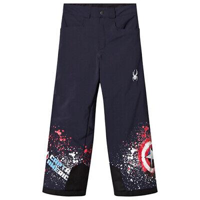 Snowboarding Pant Size 8 Spyder Boy/'s Marvel Hero Pants Ski NWT