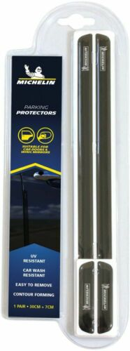 Michelin Parking Car Door and Wing Mirror Protectors Garage Wall Black
