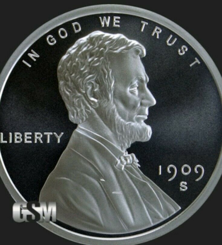 Lincoln Wheat Cent Brilliant Uncirculated 10-1//2 oz .999 Silver Rounds