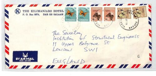 BT178 1979 Tanzania Commercial Air Mail Cover {samwells}PTS