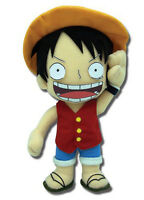 Monkey D. Luffy (ge-8986) 9 Plush Stuffed Doll - Authentic One Piece Series Toy