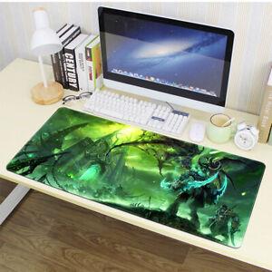 Large World of Warcraft WOW Speed Game Mouse Pad Mat Laptop Gaming Mousepad